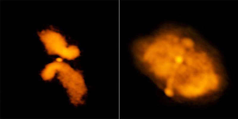 Pairs of supermassive black holes in galaxies may be rarer than previously thought