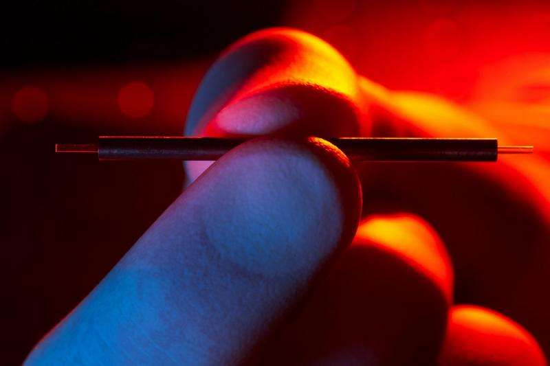 Physicists shrink particle accelerator