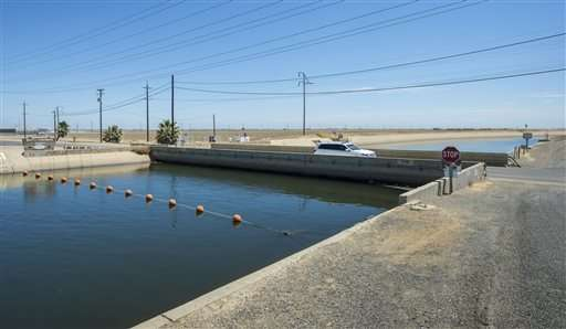 Report: Groundwater pumping in California has land sinking