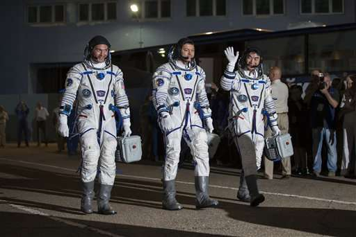 Russian capsule docks with International Space Station
