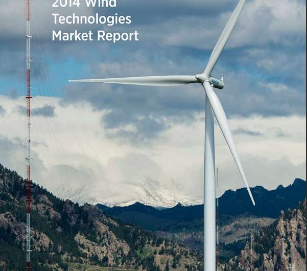 Study finds price of wind energy in US at an all-time low, averaging under 2.5¢/kWh