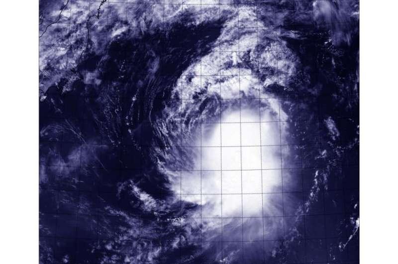 Suomi NPP satellite sees Molave on the move