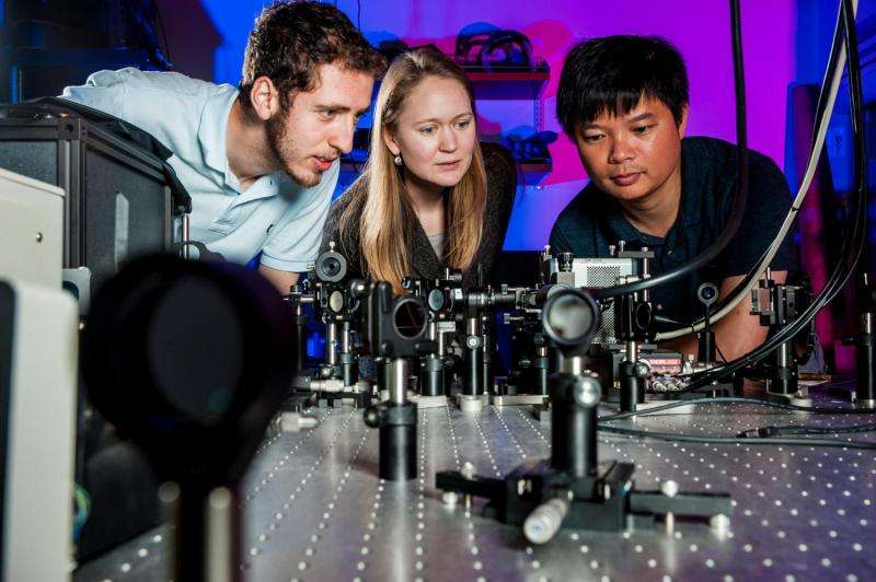 Superfast fluorescence sets new speed record
