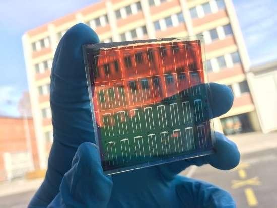 Tandem solar cells are more efficient