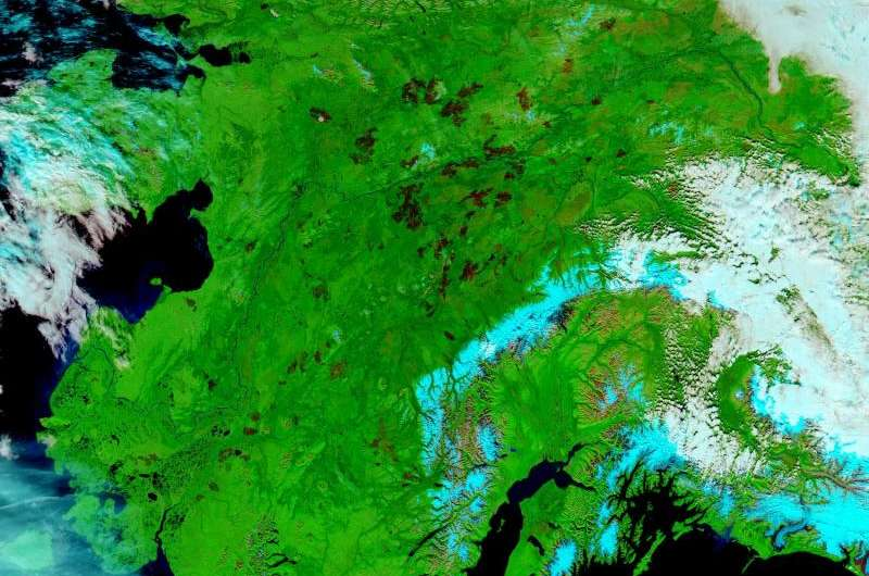 The Alaska fire season -- before and after