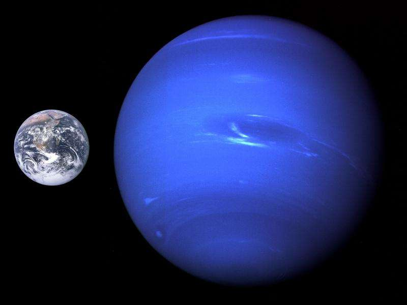 The gas (and ice) giant Neptune