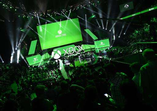 The Microsoft's Xbox media briefing before the opening day of the Electronic Entertainment Expo, in Los Angeles, California on J