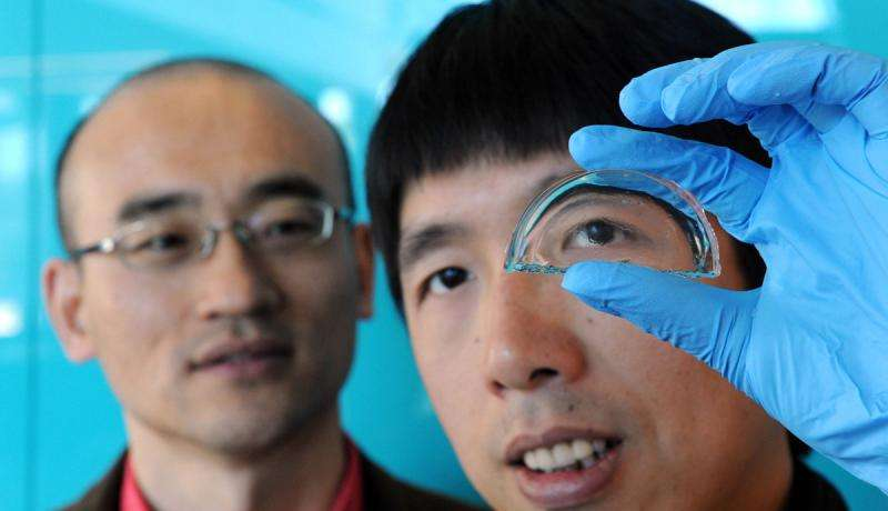 Turning up the heat on shape-shifting gels