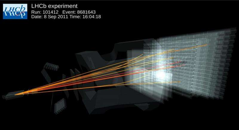 Two Large Hadron Collider experiments first to observe rare subatomic process