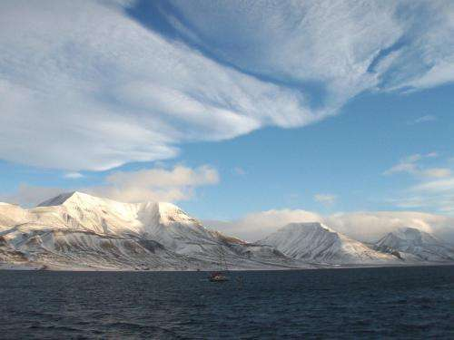 UNH geologist identifies new source of methane for gas hydrates in Arctic