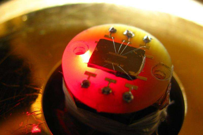 Penn researchers discover new chiral property of silicon, with photonic applications