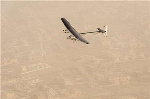 Q&A: A look at solar plane attempting round-the-world trip
