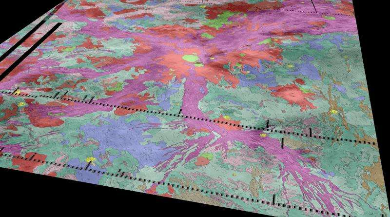Study suggests active volcanism on Venus