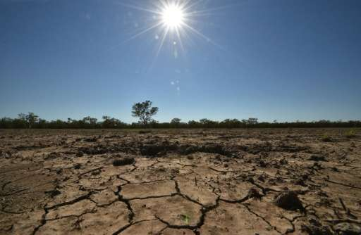Scientists warn that if global warming is not limited to an average two degrees Celsius ever-more violent storms, droughts and s