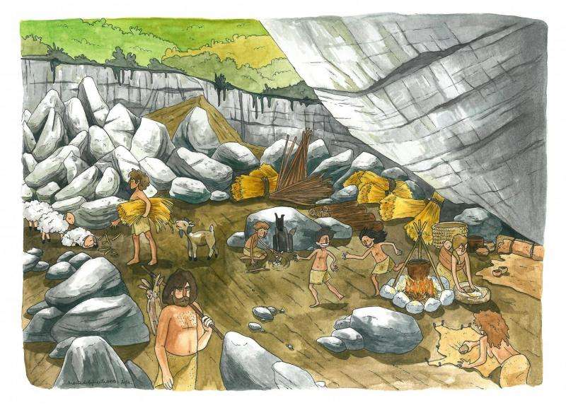 Ancient genomes link early farmers to Basques