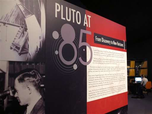 Arizona home of Pluto discovery dedicates year to icy world