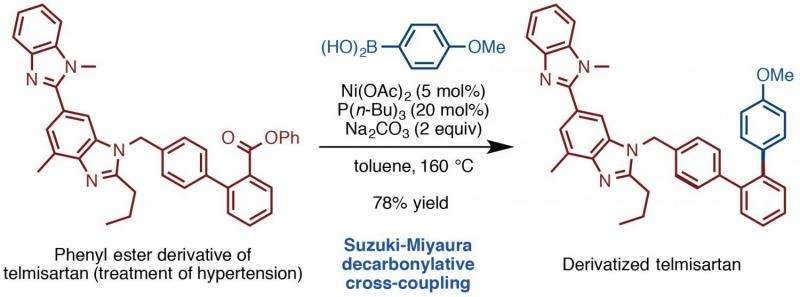 Aromatic couple makes new chemical bonds