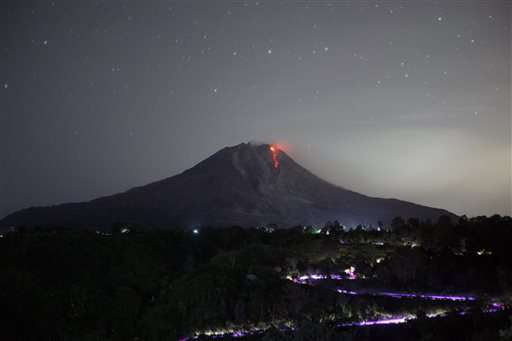 Ash from Indonesia volcano blankets provincial capital Medan