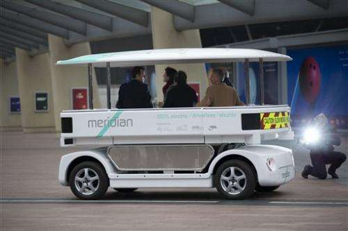 Britain starts public trial of driverless cars