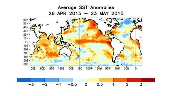 El Niño to bring cool relief to Western Australian waters