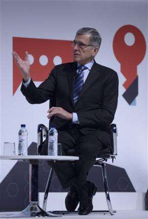 FCC head defends Internet neutrality rules on the road