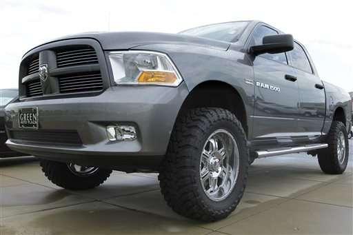 Fiat Chrysler recalls 1.7M trucks for air bag, weld troubles