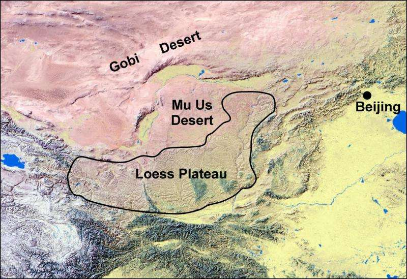 How wind sculpted Earth's largest dust deposit