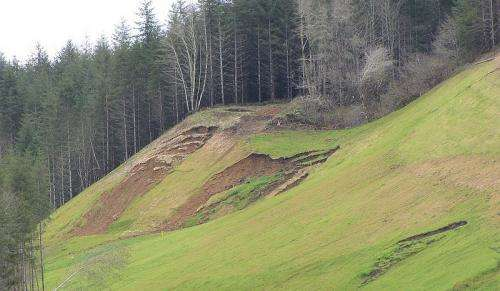 Map outlines western Oregon landslide risks from a subduction zone earthquake