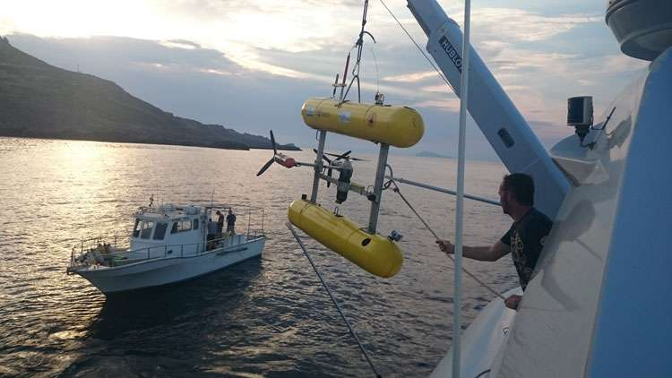 Marine archaeologists excavate Greek Antikythera shipwreck