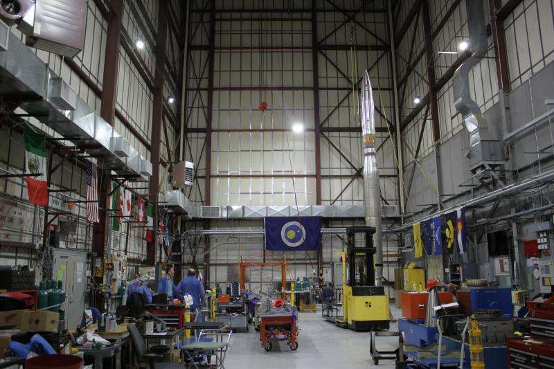 NASA-funded MOSES-2 sounding rocket to investigate coronal heating
