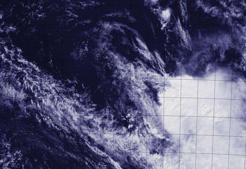 NASA-NOAA satellite sees the end of Tropical Cyclone Ikola