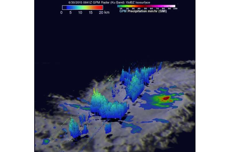 NASA sees heavy rain in Tropical Cyclone Chan-Hom