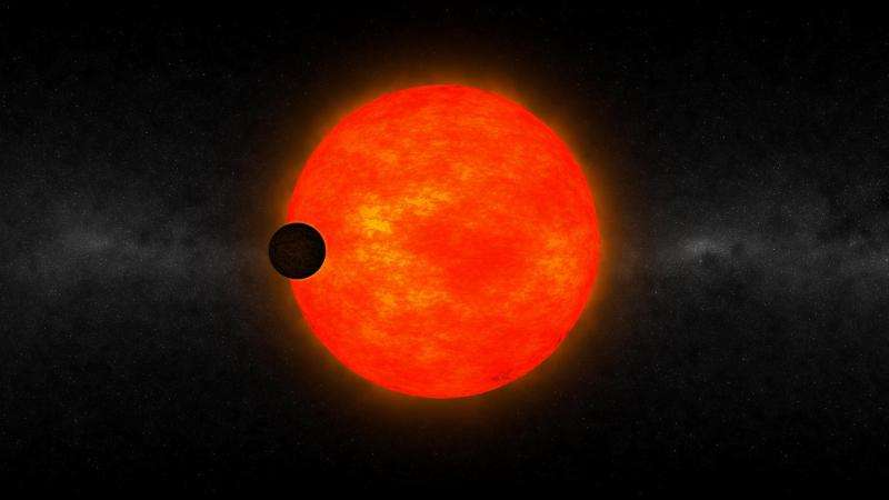 New exoplanet too big for its stars