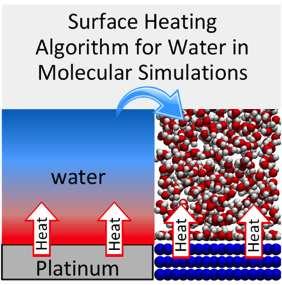 Novel algorithm simulates water evaporation at the nanoscale