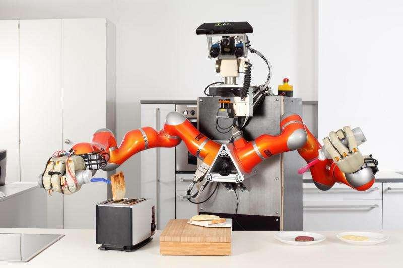 Pancake-making PR2 spells teachable future in robotics