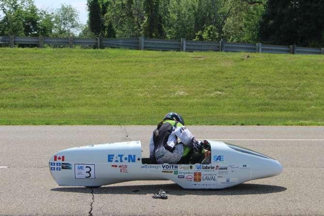 Students' 2098 mpg fuel-efficient car gets top score in mileage challenge