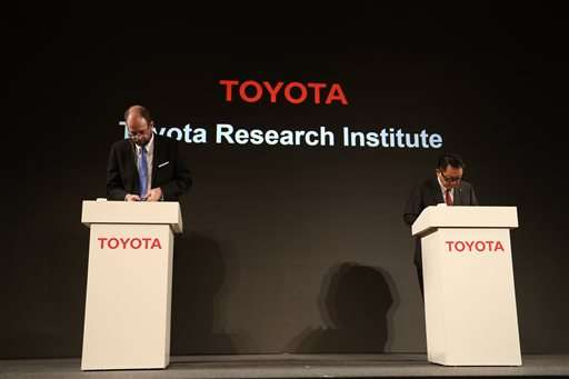Toyota invests $1 billion in artificial intelligence in US