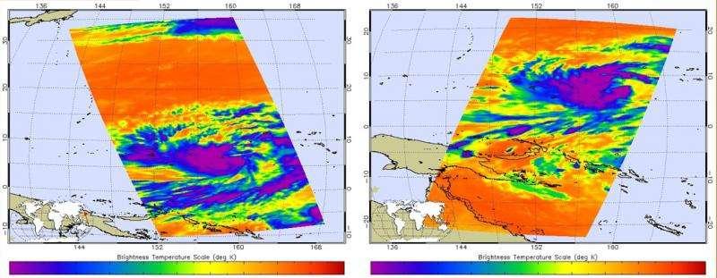 Tropical Storm Dolphin threatening Micronesia