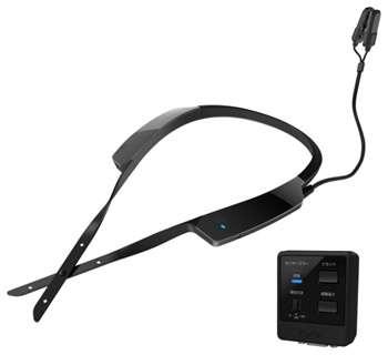Wearable sensor promotes safer driving