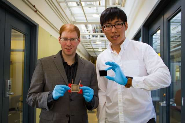 New technique uses carbon nanotube film to directly heat and cure composite materials