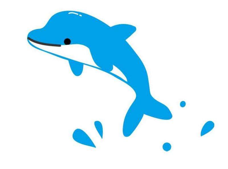 2.4 percent faster swimming with the dolphin kick