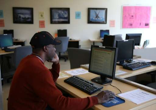 A Pew Research Center report found 79 percent of people seeking employment used online resources in their most recent job search