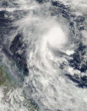 NASA satellite sees newborn Tropical Cyclone Marcia threatening Queensland