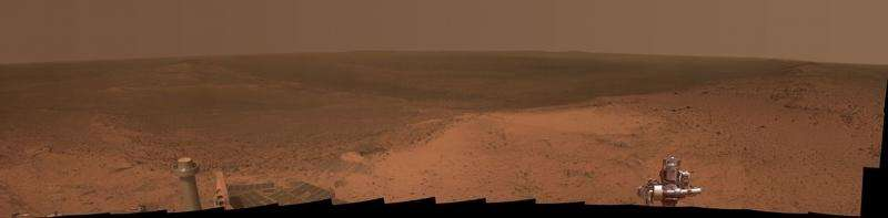 Opportunity of a lifetime—NASA's 4,000 days roving Mars