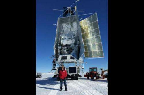 SPIDER Experiment Touches Down in Antarctica