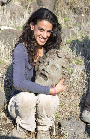 The largest known bronze mask of Pan uncovered by researchers