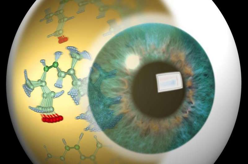 The molecular breakdance of seeing