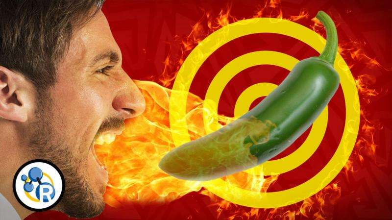 Why it hurts to eat hot peppers (video)