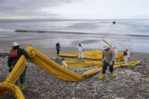 California oil spill gushed like hose 'without a nozzle'