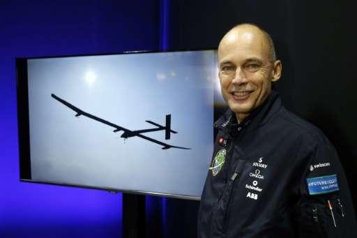 Solar Impulse 2 co-pilot Bertrand Piccard